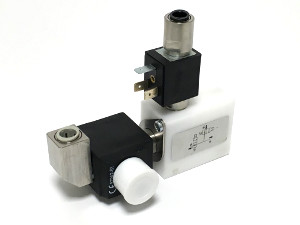 BFS Solenoid Valve Block for High Speed Beer Dispense Equipment is Hygienically Clean too because its Free of Dead Space and Self Cleaning