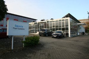 Headquarter of Bavaria Fluid Systems GmbH in Pforzheim Germany with Research and Development and Solenoid Valves and Oscillating Piston Pumps Manufacturing