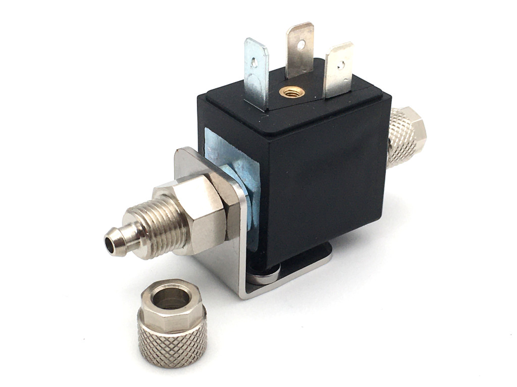 2/2-way-coaxial-beverage-solenoid valve BMV61010 - stainless steel - for water dispenser - sparkling water - still mineral water - soda
